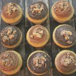 "Triple Peanut Butter Cupcakes (w/ Peanut Butter ""Nutella"" Filling)"