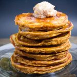 Pumpkin Pie Low Carb High Protein Pancakes