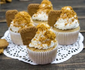 Best-Ever Biscoff Cookie Butter Cupcakes