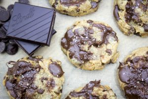 Chewy Bakery-Style Chocolate Chip Cookies with Browned Butter