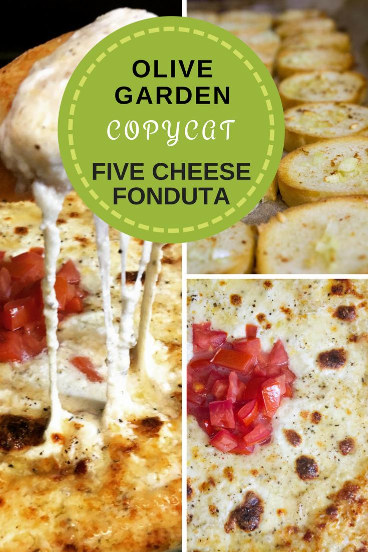 Copycat Olive Garden Five Cheese Italian Fonduta