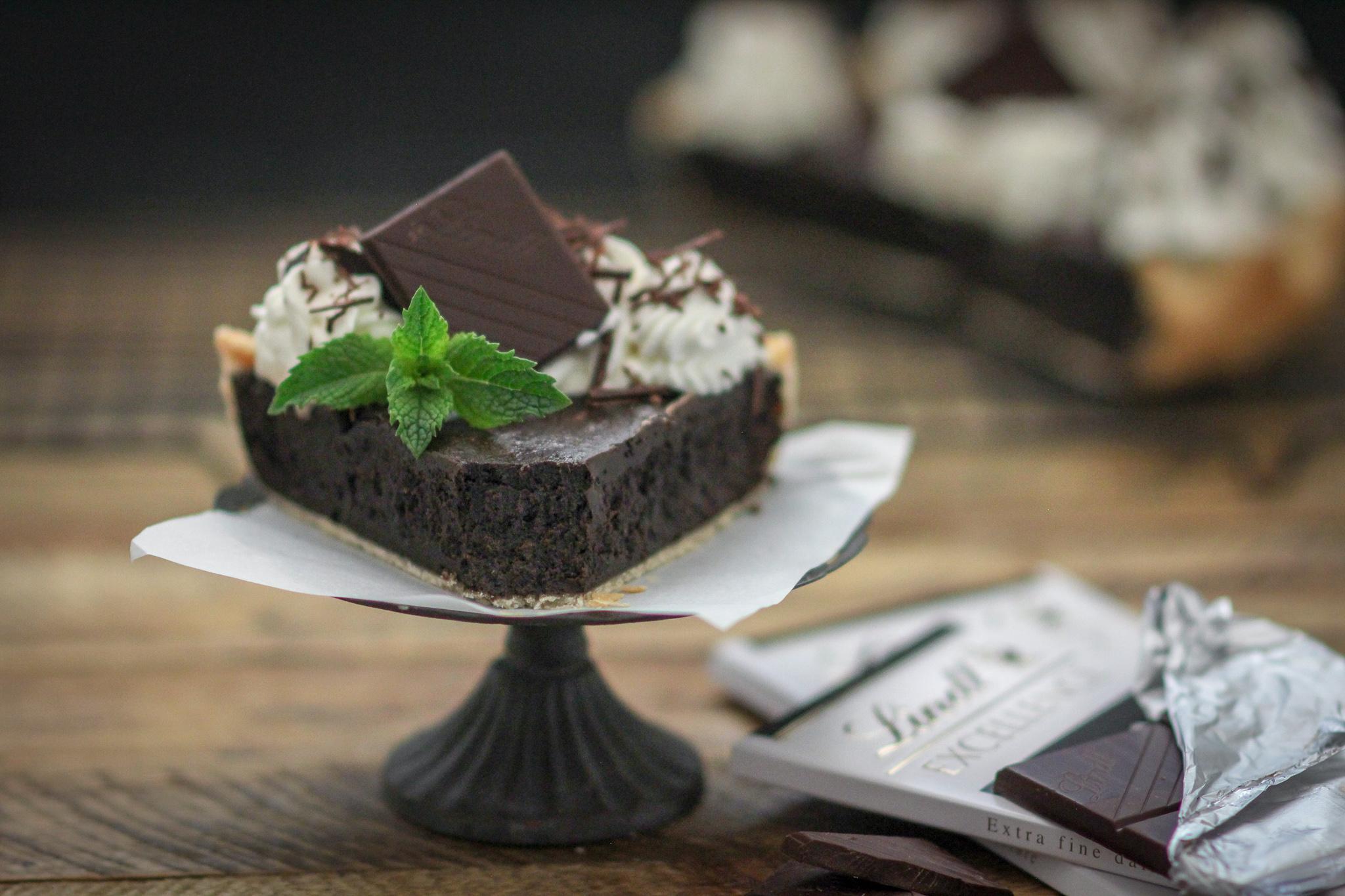 Irish Cream Chocolate Fudge Pie