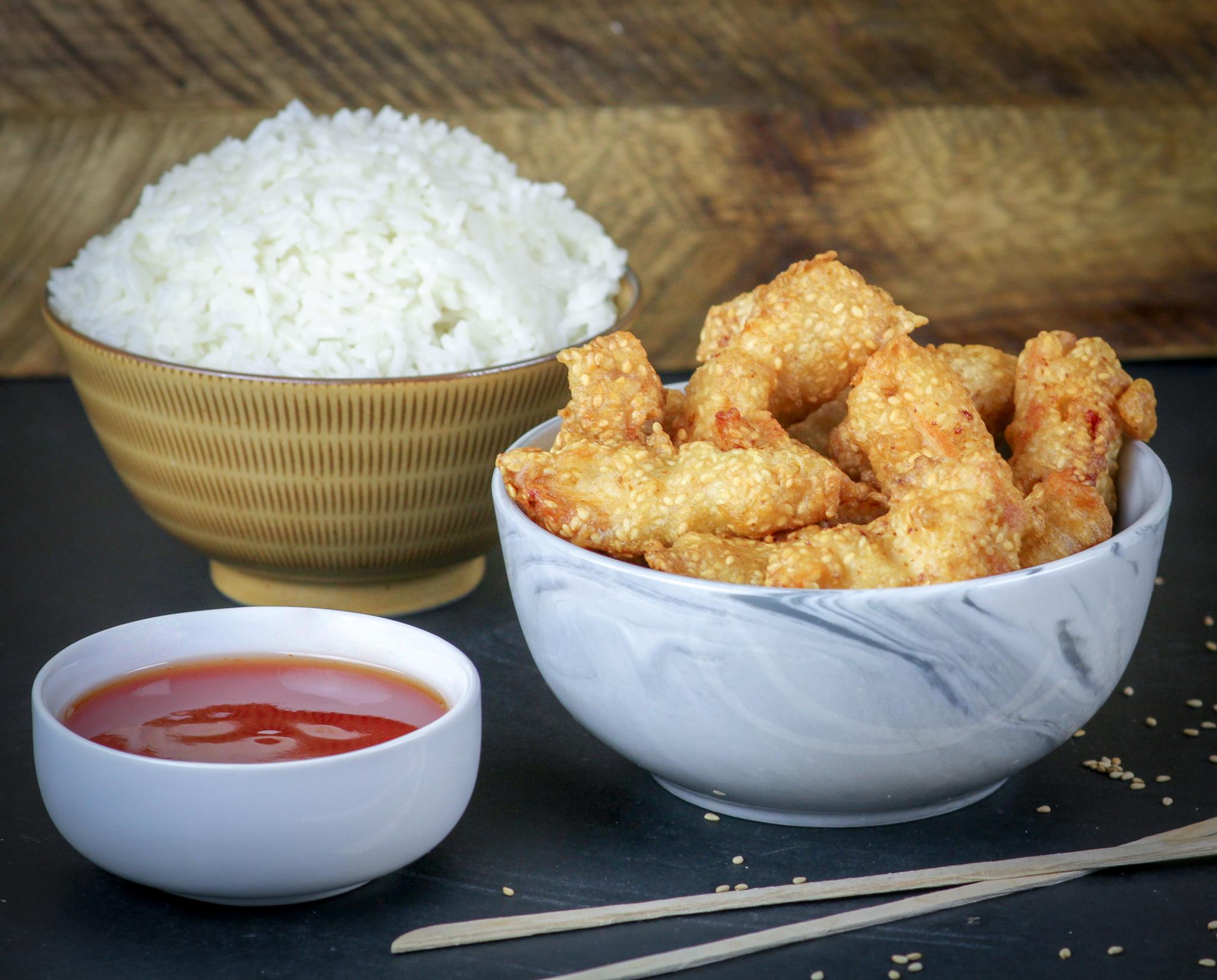 Crispy Crunchy Sesame Chicken
