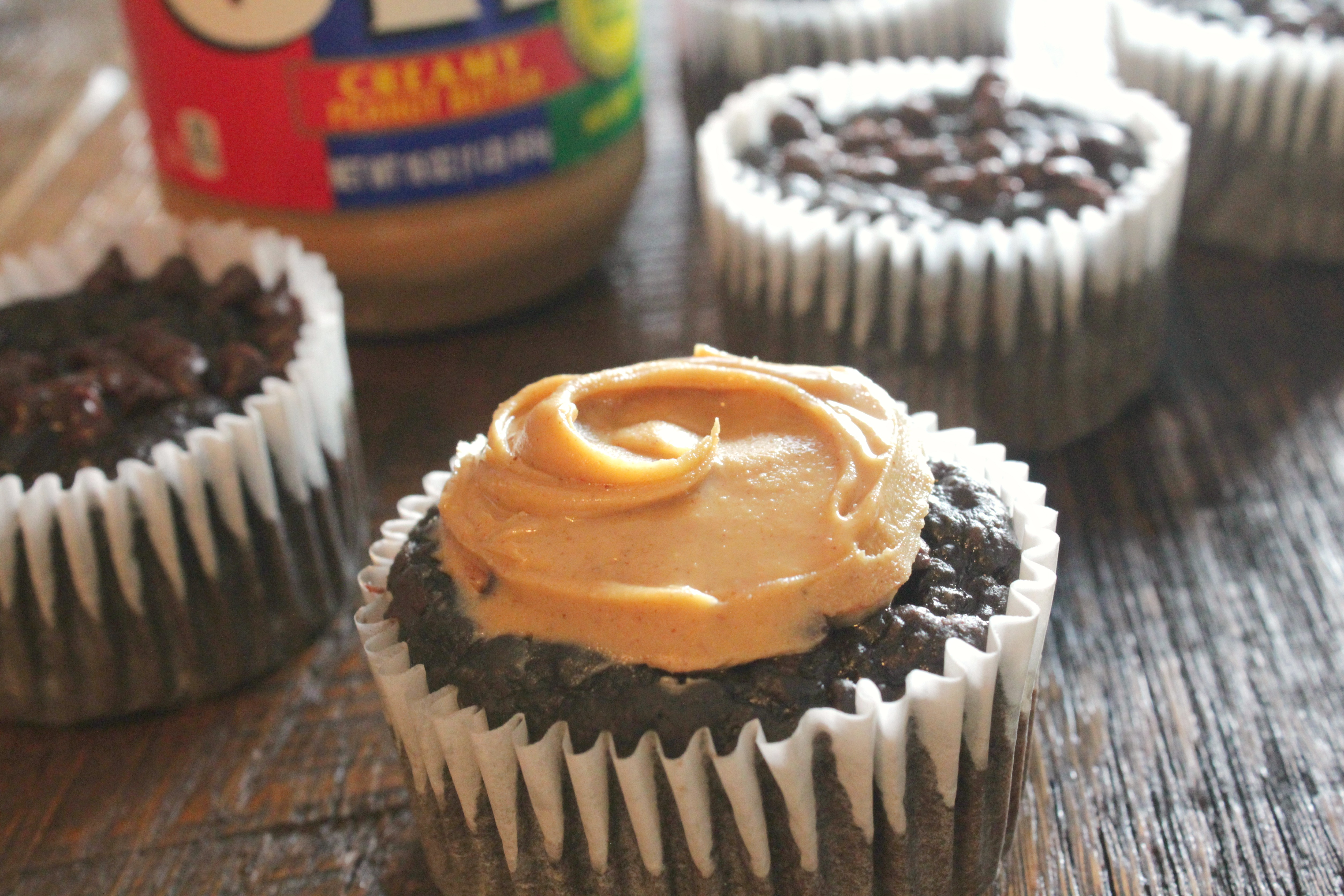 Cocoa Banana Guilt Free Dessert Muffin