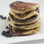Fluffiest High Protein Low Carb Pancakes (with crispy edges!)