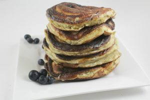 Fluffiest High Protein Low Carb Pancakes