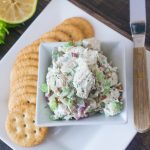 Clean & Healthy Chunky Chicken Salad
