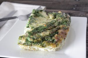 High Protein 4-Ingredient Breakfast Casserole