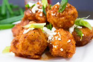 Buffalo Cauliflower Bites Recipe {CPK Inspired}