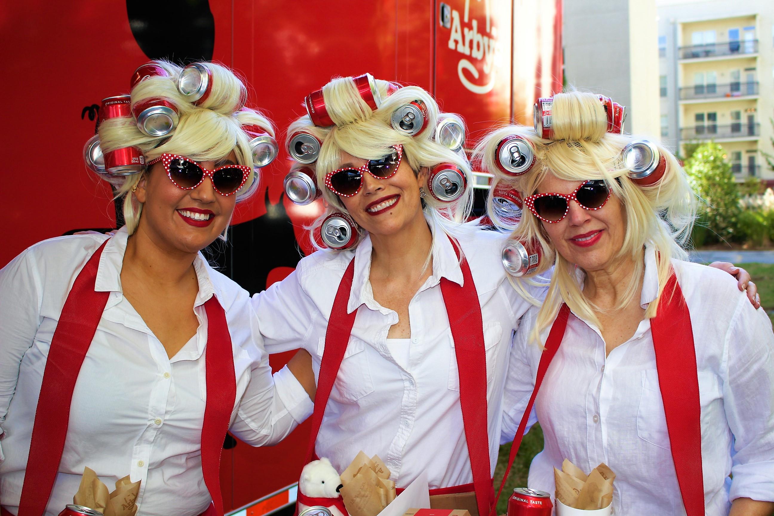 Coke Girls Halloween Costume