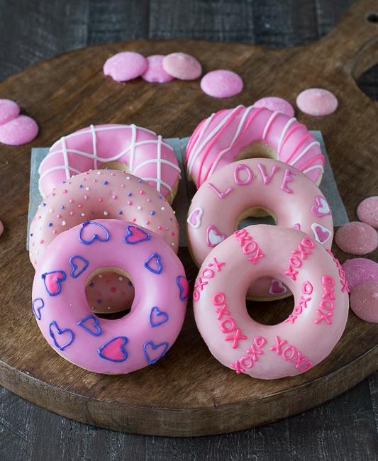 Valentine Donuts
