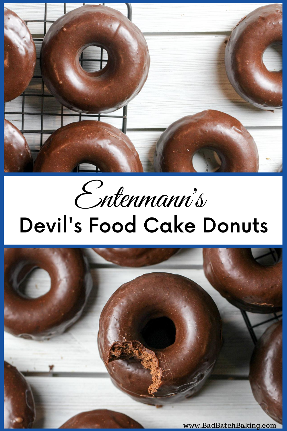 Entenmann's Devil's Food Cake Donuts