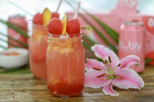 bubly™ Sparkling Watermelon Peach Cocktail