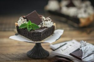 Irish Cream Chocolate Chewy Fudge Pie