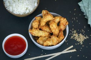 Crispy Crunchy Fried Sesame Chicken