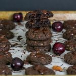 Tart Cherry Almond Chocolate Cookies (Kathleen King Remixed)