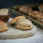 Pumpkin Spiced Biscuits with Spiced Sweet Butter