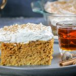 Pumkpin Spice Tres Leches Cake with Amaretto