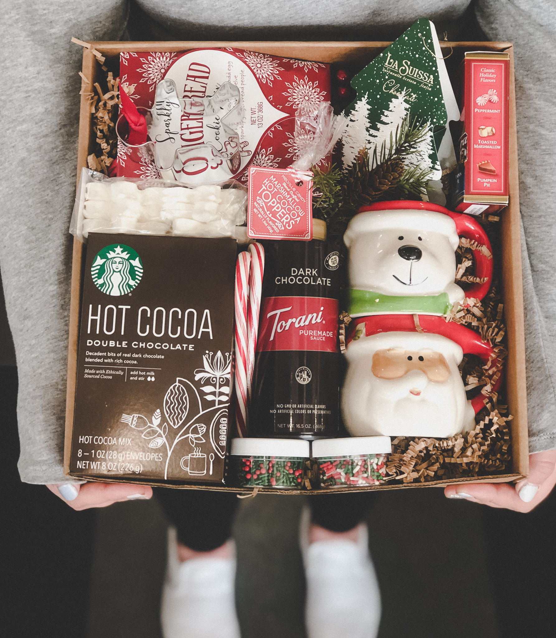 Gift Basket - Holiday Cocoa & Cookies