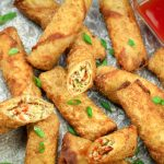 Chicken Egg Rolls with Sweet & Sour Sauce Recipe
