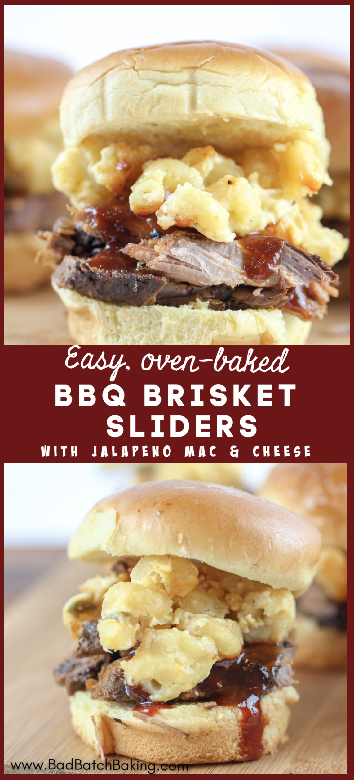 BBQ Brisket with Creamy Jalapeno Mac and Cheese