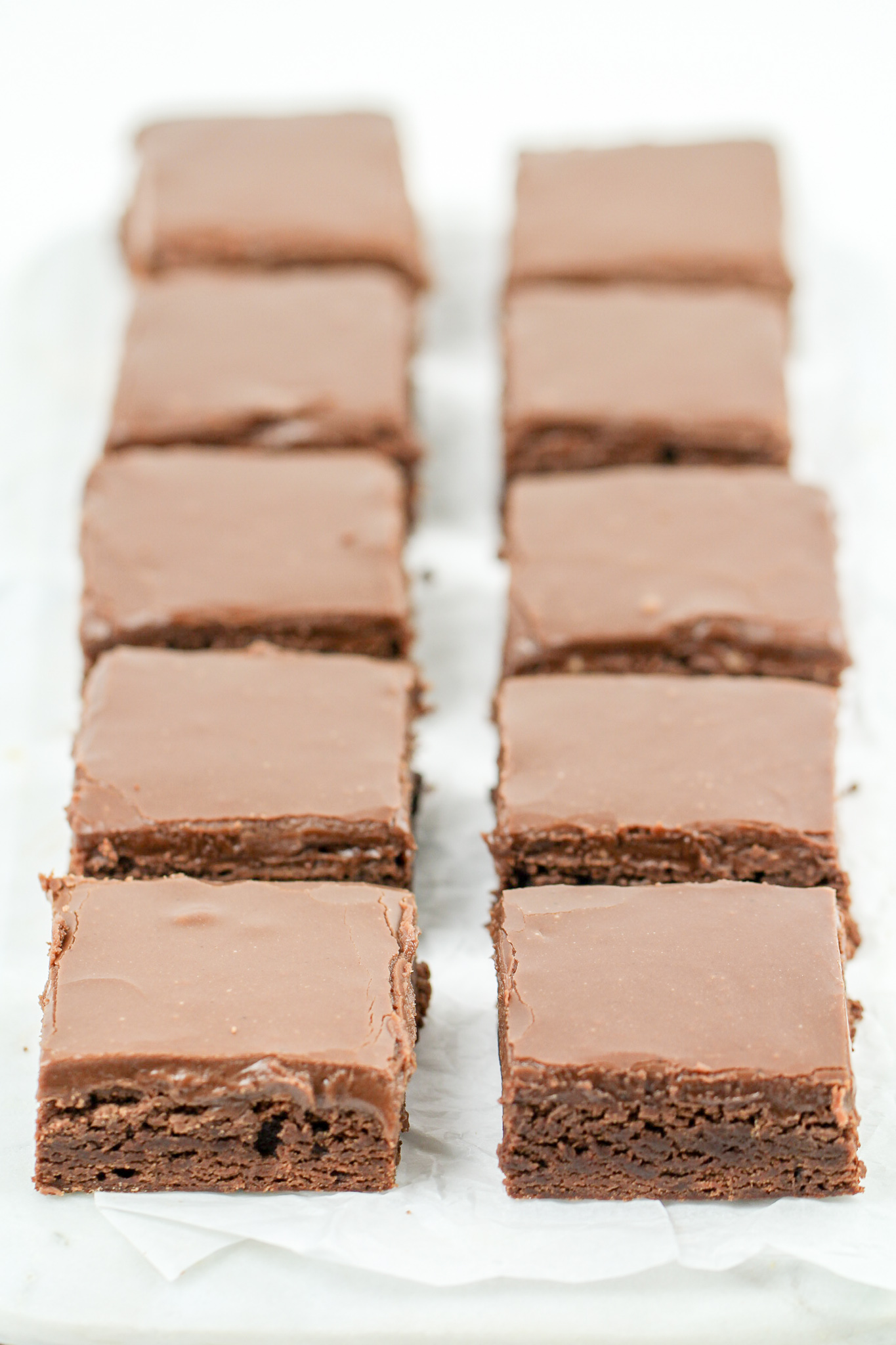 School Cafeteria Brownies Recipe