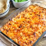 Grilled Buffalo Chicken Dip