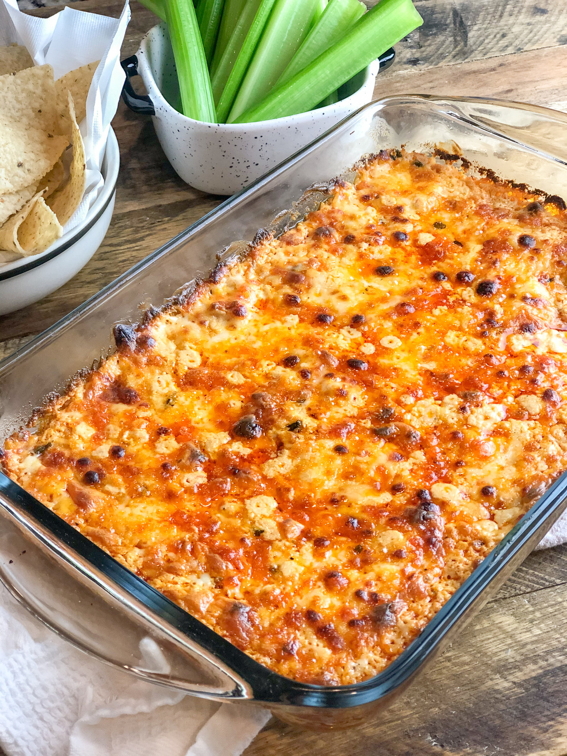 Grilled Buffalo Chicken Dip Recipe