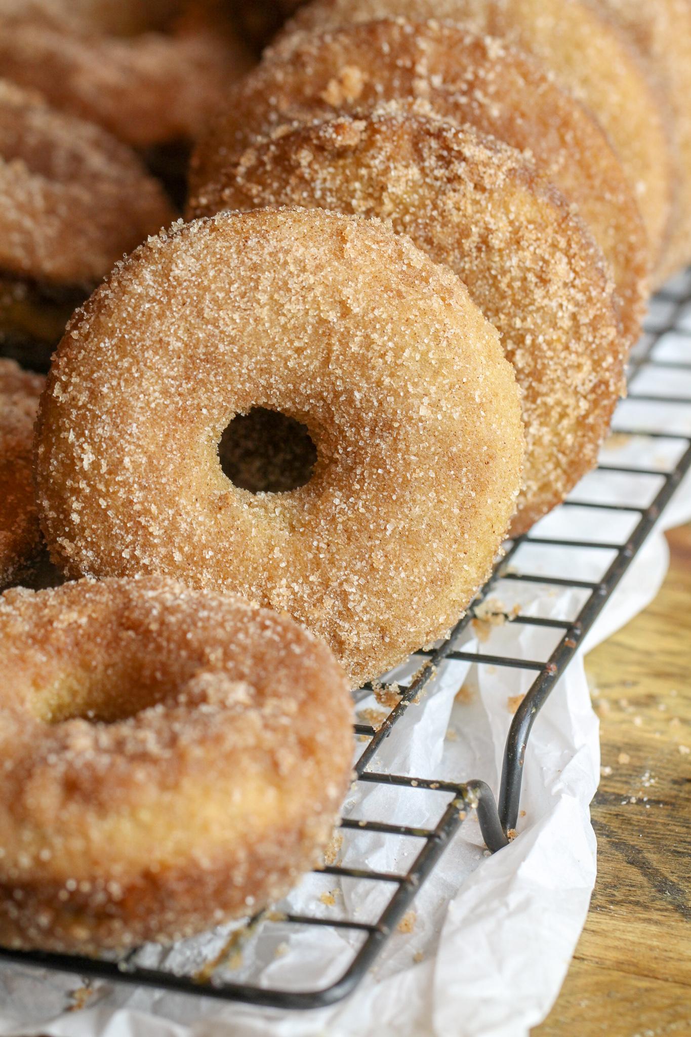 Caramel Apple Cider Donuts Recipe