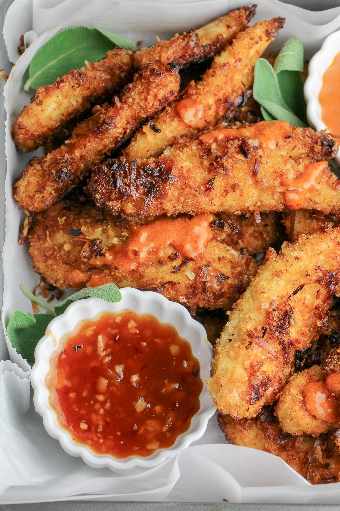 Spicy Coconut Chicken Tenders