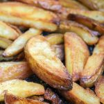 The Best Ever Crispy Baked Oven Fries with Malt Vinegar Ketchup