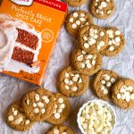 Easy Soft Batch Pumpkin Cookies with White Chocolate