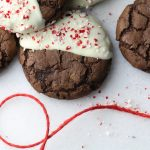Soft-Batch Triple Chocolate Peppermint Cookies