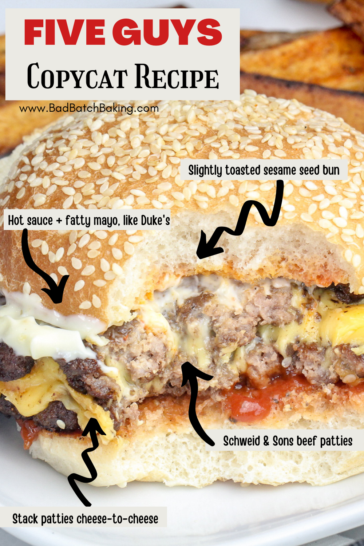 The Best Five Guys Burger Copycat Recipe