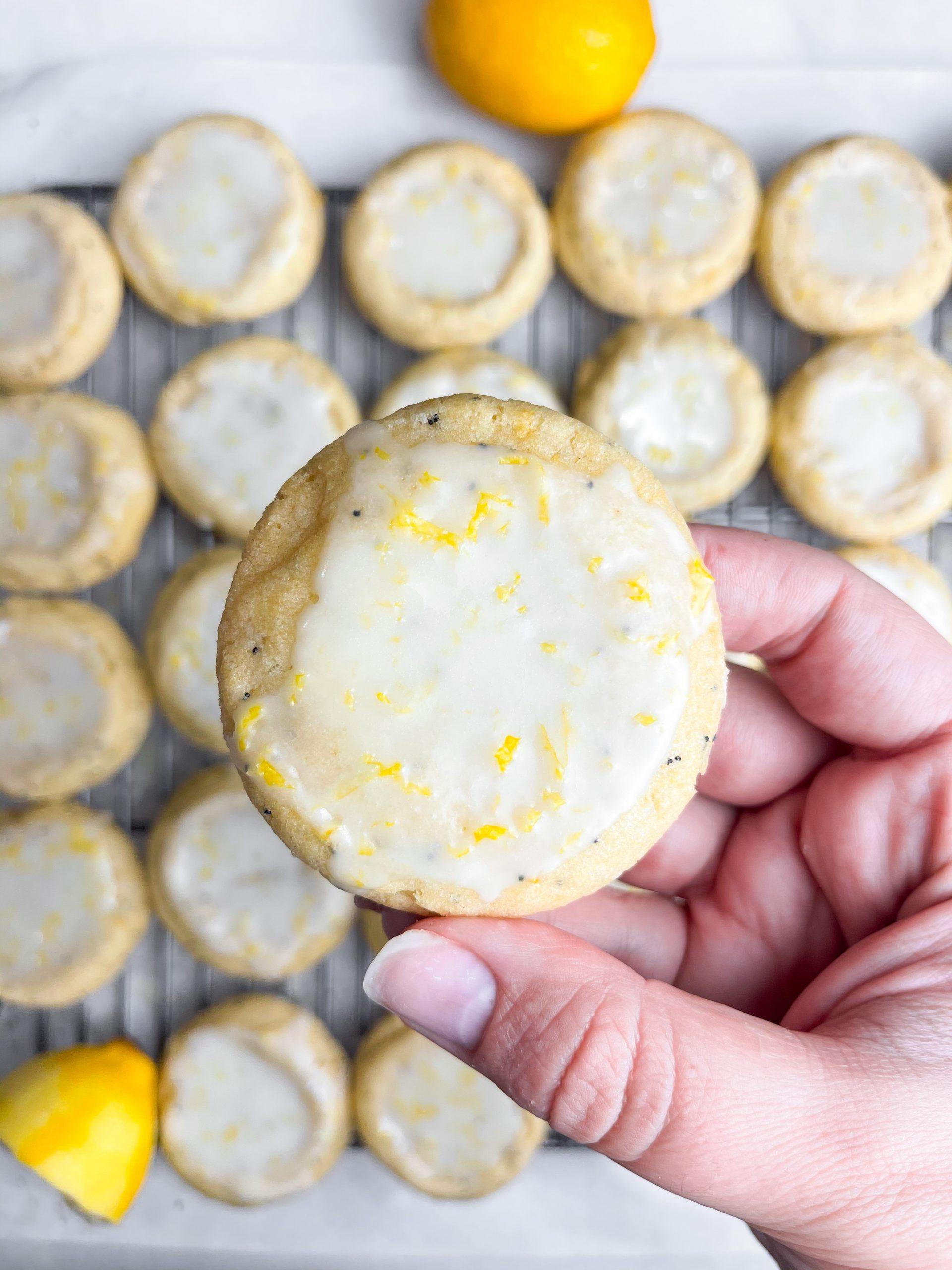Tart Soft-Baked Lemon Poppy Seed Cookies